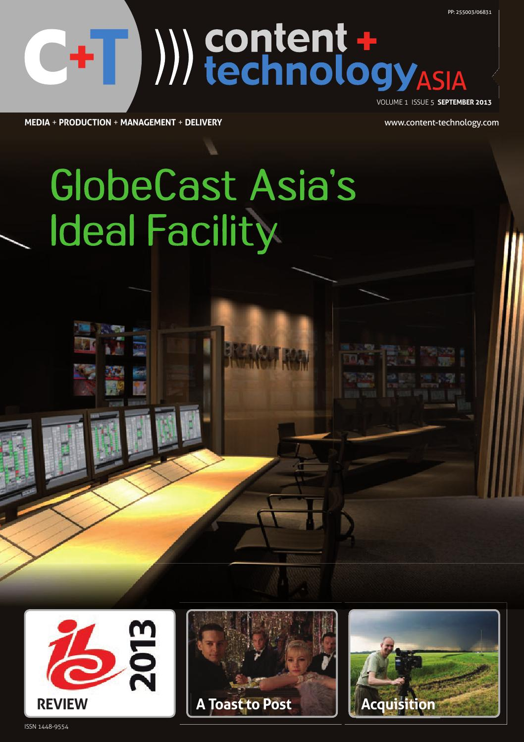 Content+Technology Asia September 2013 by Broadcastpapers