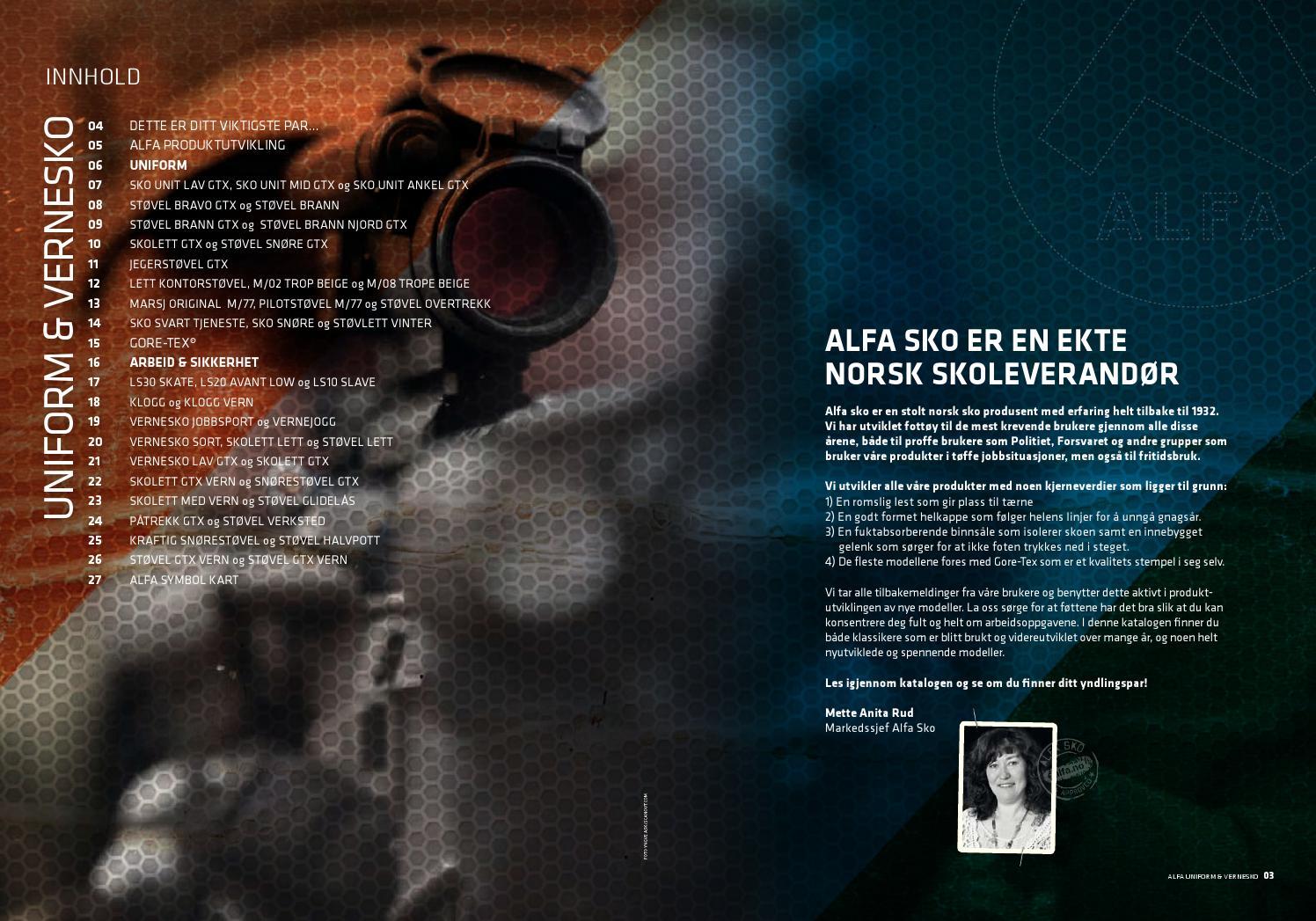 c30ab1e2 Alfa Uniformsko 2013-2014 by Alfa Sko AS - issuu