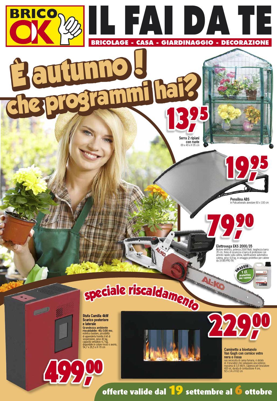 Volantino brico ok settembre 2013 by nicola montuori issuu for Volantino brico casa