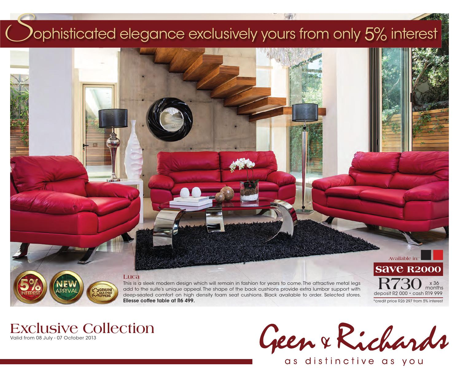 Geen Amp Richards Catalogue Valid Until Oct 7 By Broshuri