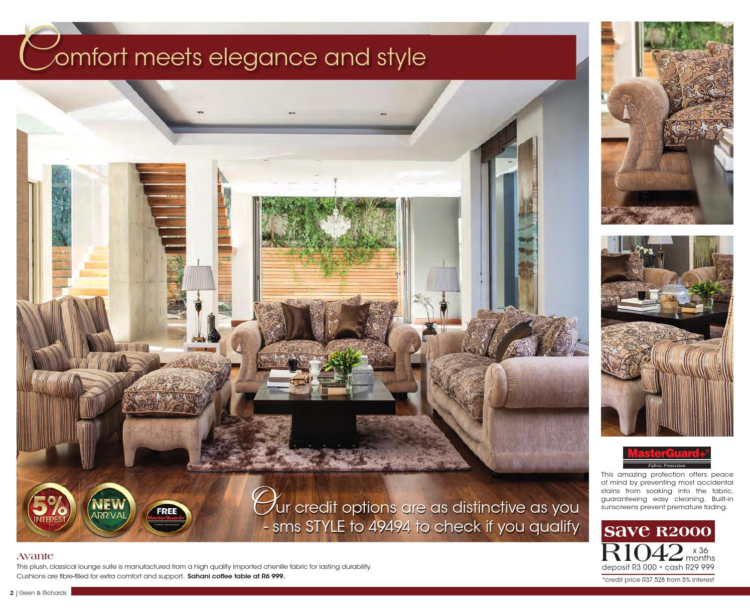 Geen And Richards Bedroom Suites Catalogue Geen Richards Catalogue Valid Until Oct 7 By Broshuri