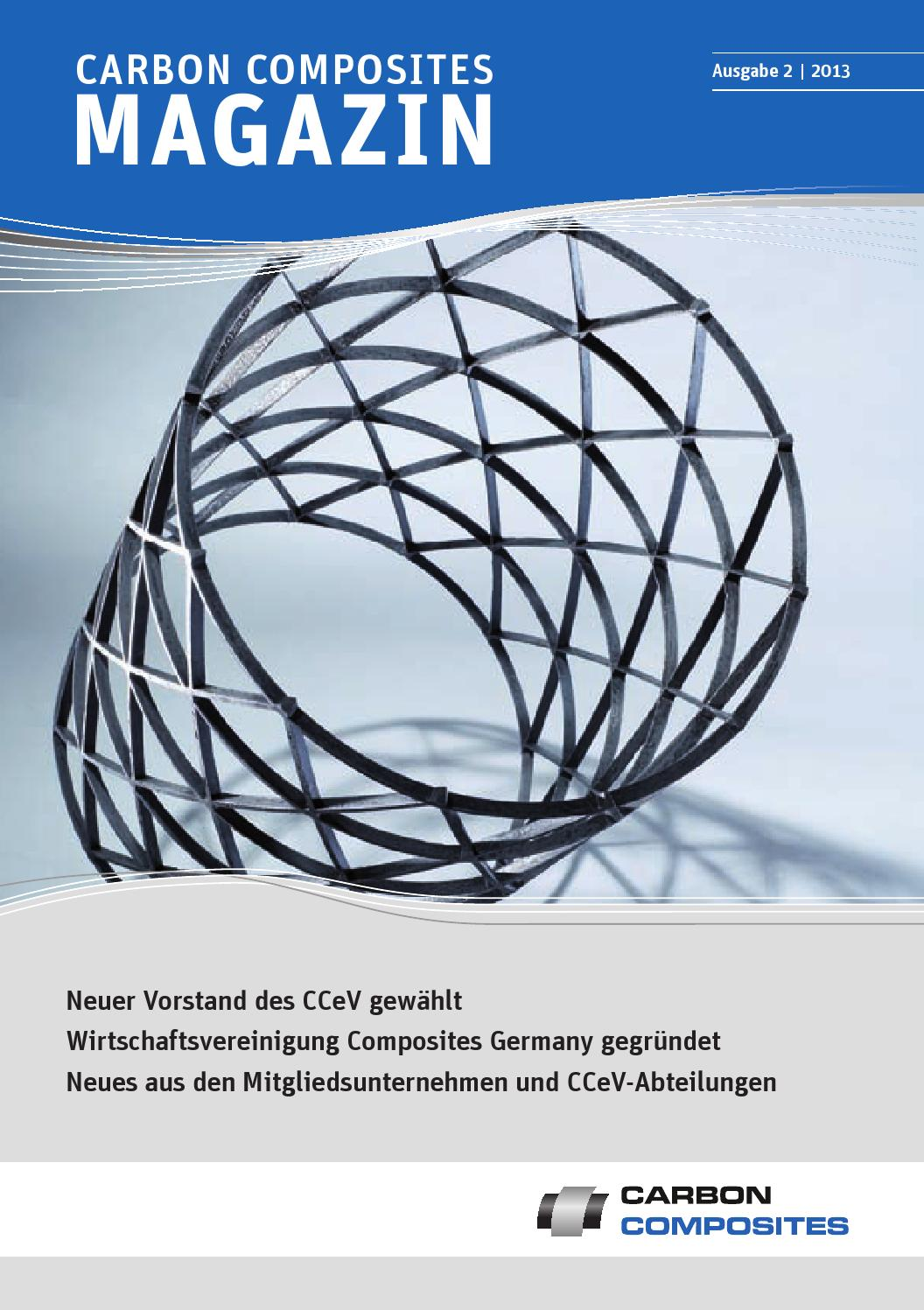 Carbon Composites Magazin - Ausgabe 02/2013 by sn82 - issuu