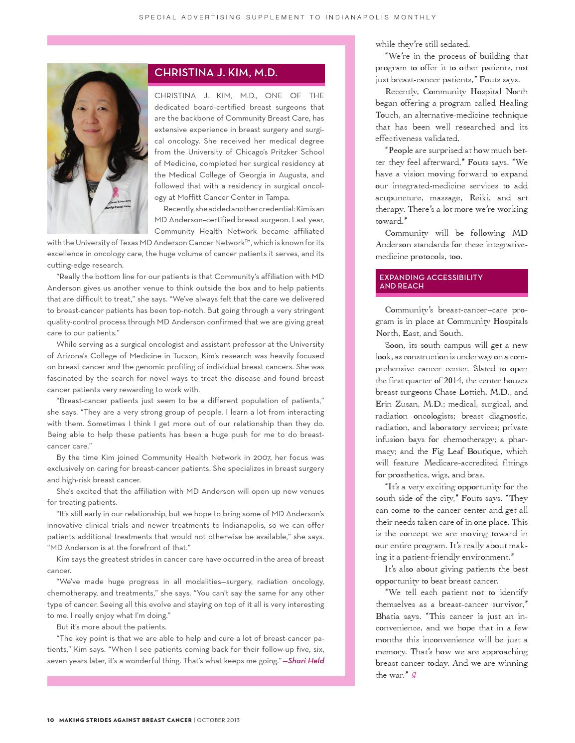 Making Strides Against Breast Cancer by Indianapolis Monthly - issuu