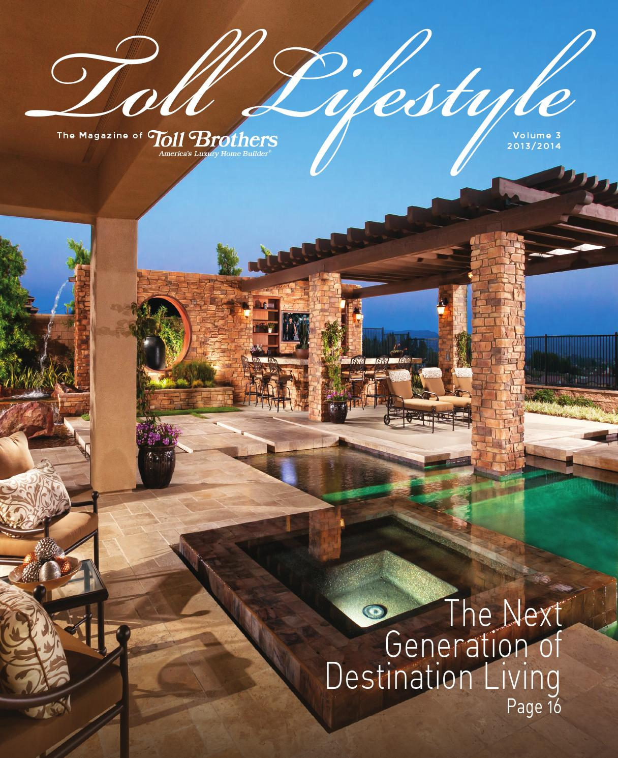 toll brothers lifestyle magazine by toll brothers inc issuu