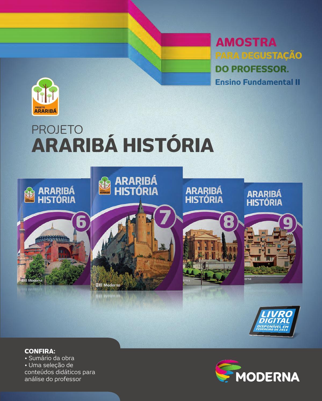 Projeto ararib histria by editora moderna issuu fandeluxe Choice Image