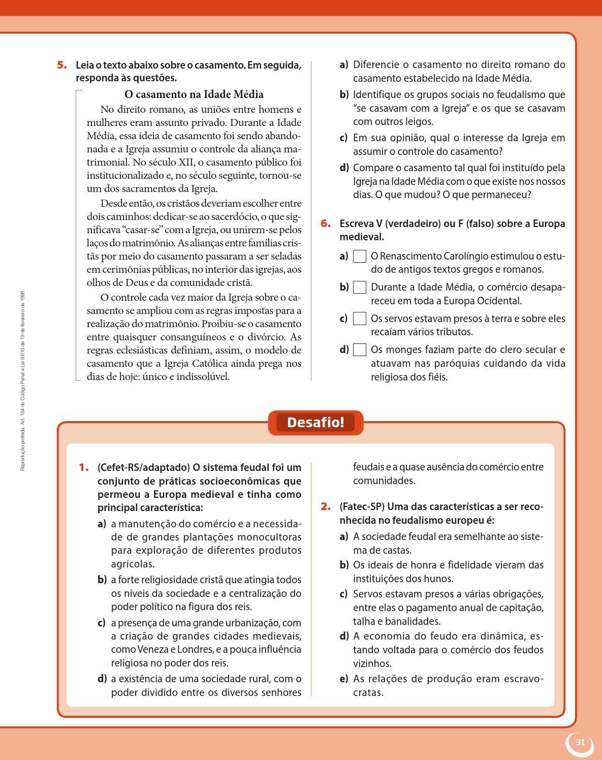 Matrimonio Direito Romano : Projeto araribá história by editora moderna issuu