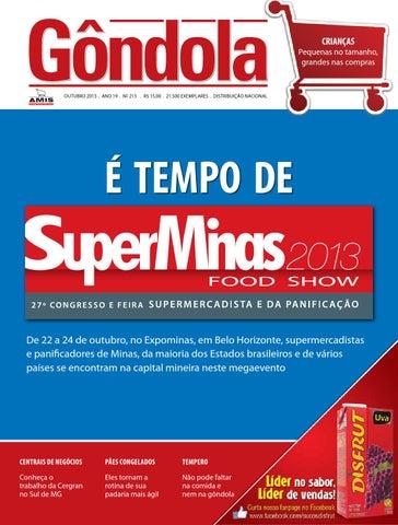11f6619e389a4 Revista Gôndola edição 213 by AMIS Associação Mineira de ...