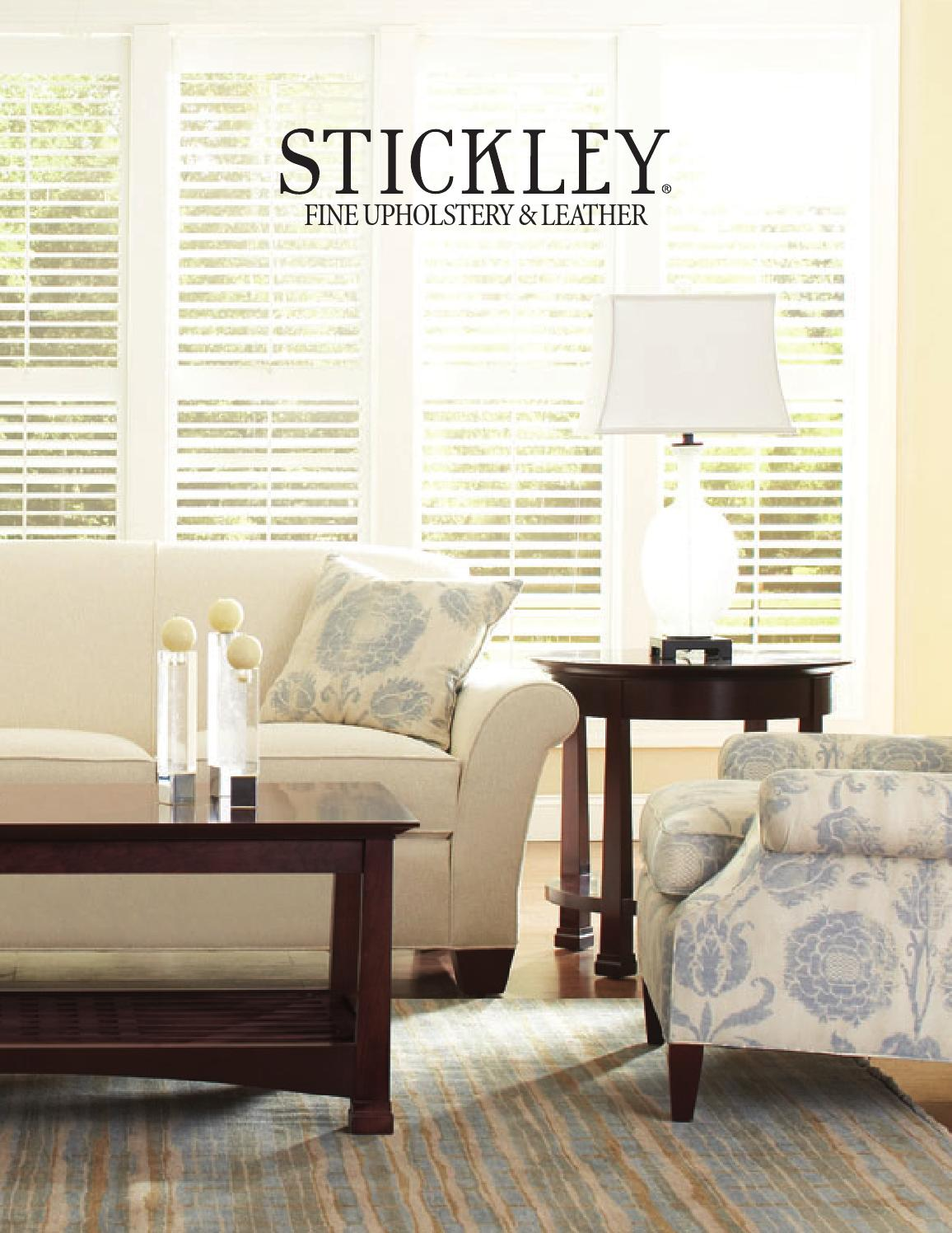 Stickley Fine Upholstery Amp Leather Collection By Stickley