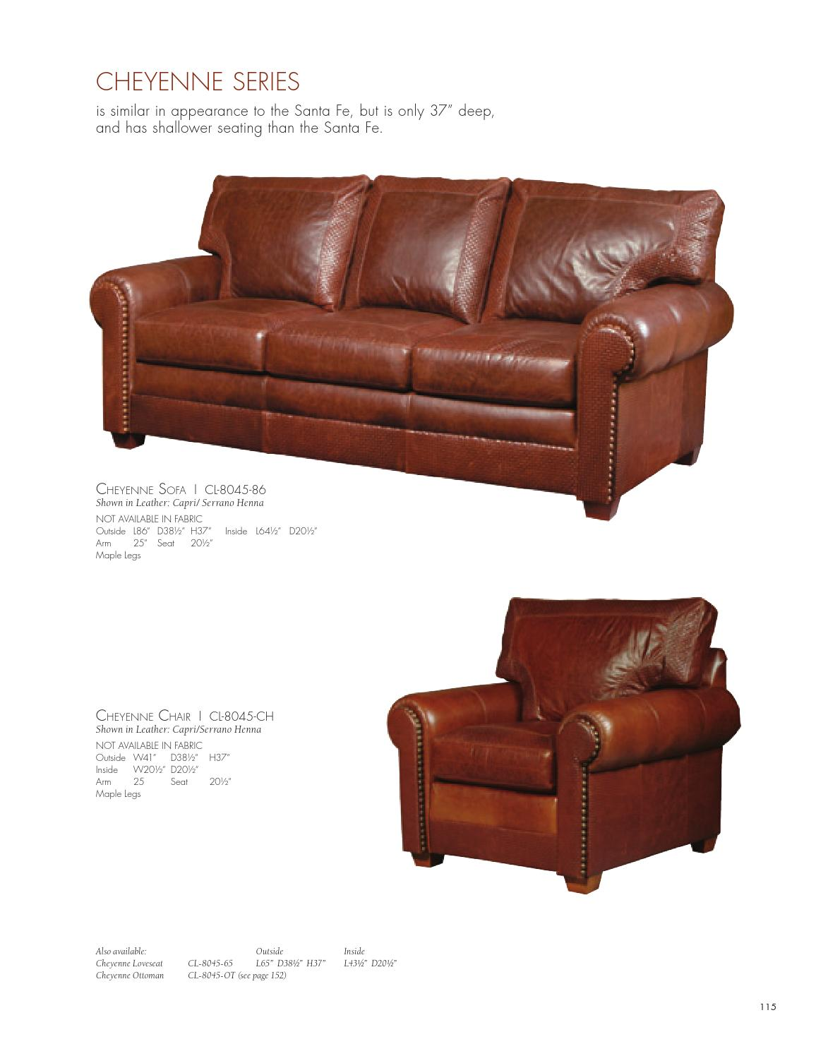 Stickley Fine Upholstery U0026 Leather Collection By Stickley   Issuu