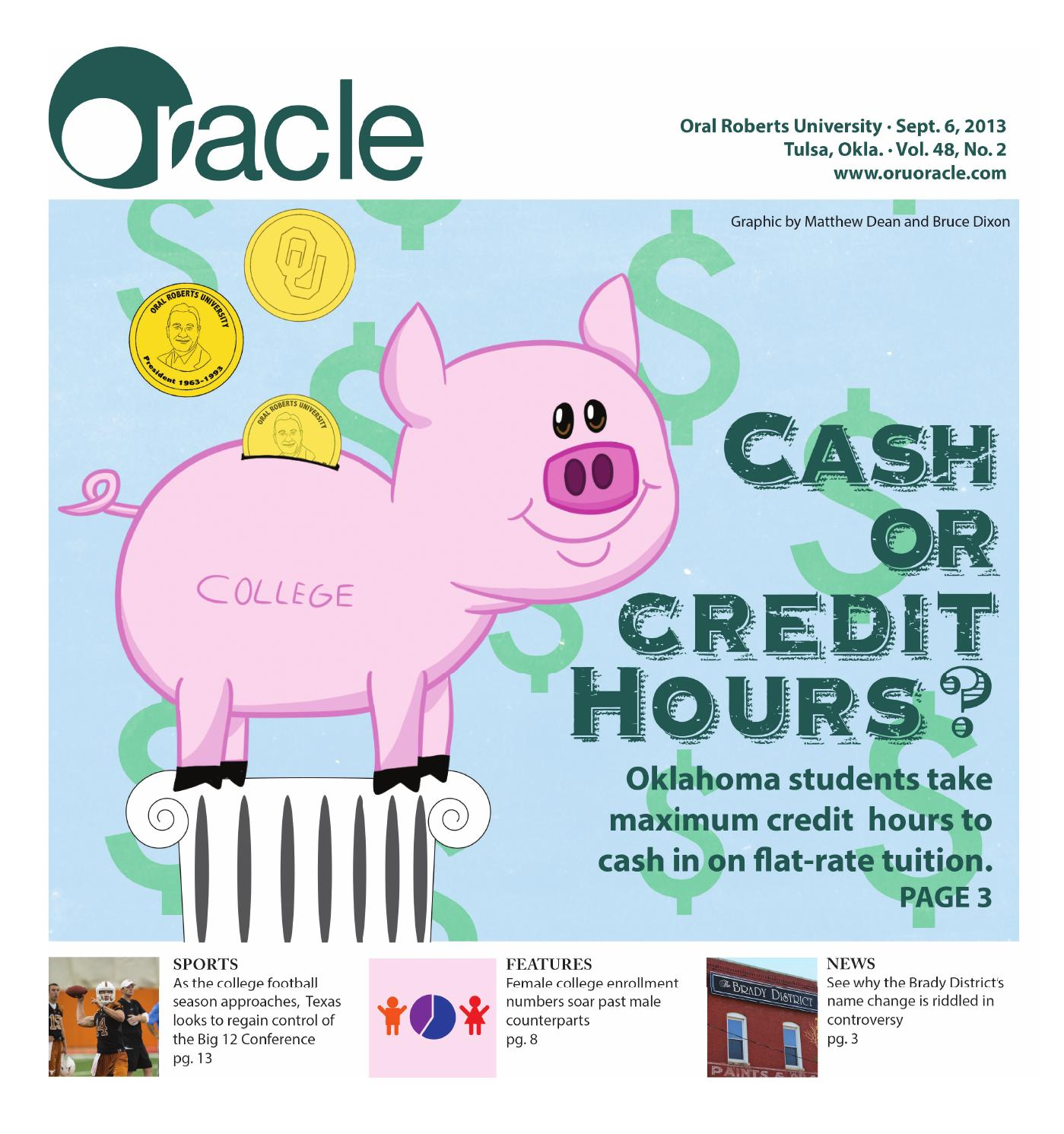 Sep 6 2013 Print Edition By Oru Oracle Issuu