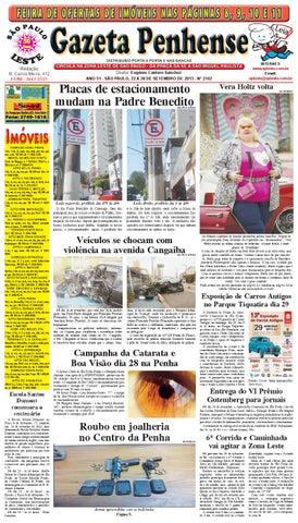 5a563755b 22 a 28 09 13 - edição 2142 - Gazeta Penhense by Marcelo Cantero - issuu