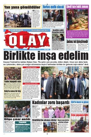 21 09 2013 Gazete Sayfalari By Diyarbakir Olaygazetesi Issuu