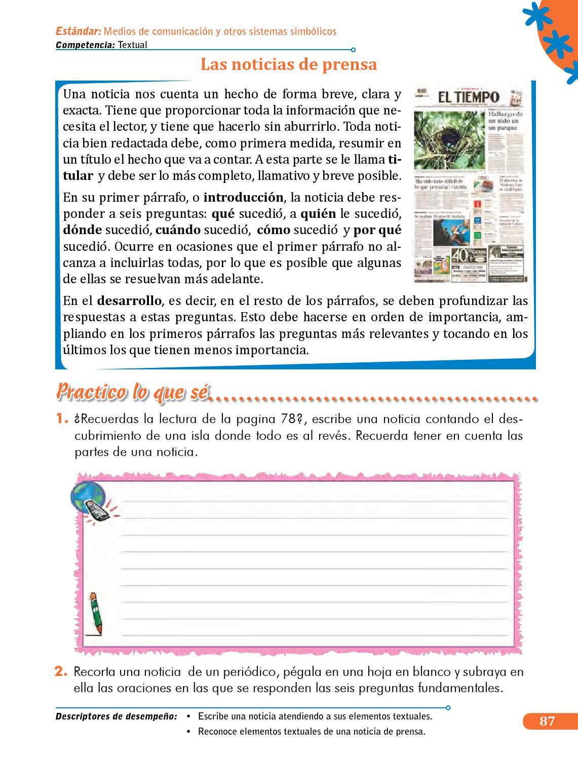 competencias comunicativas libro lengua 5 estudiante by