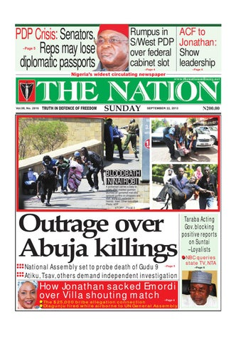 The Nation Sep 22 2013 By The Nation Issuu