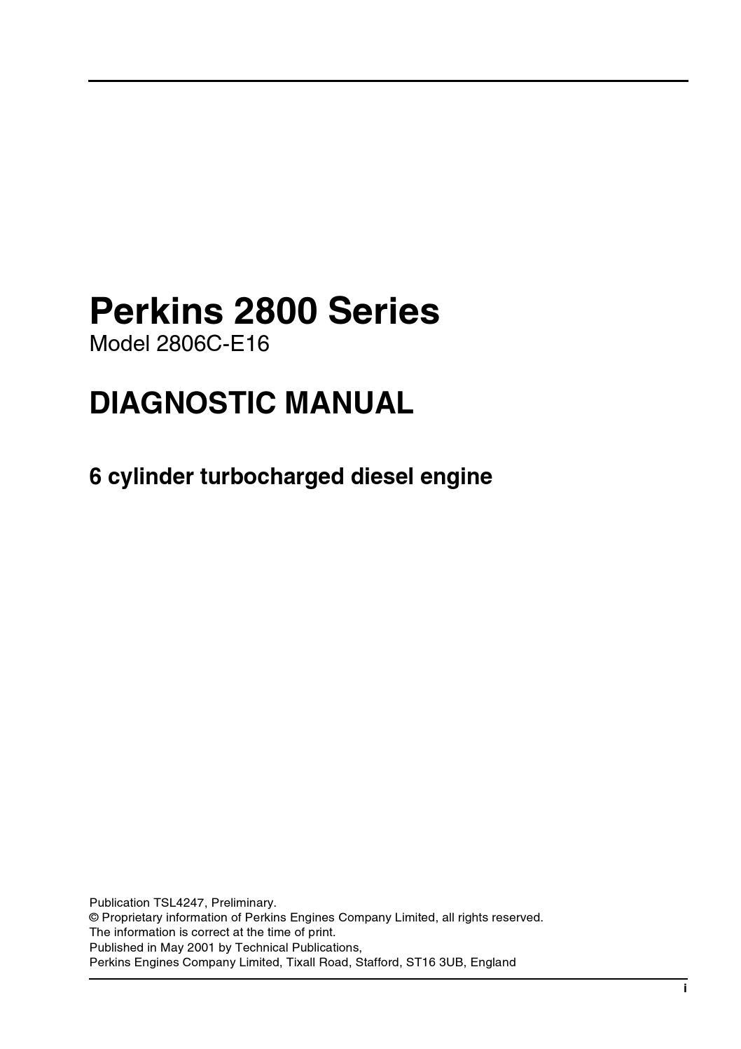 perkins 2800 series model 2806c e16 diagonstic manual by emir perkins 2800 series model 2806c e16 diagonstic manual by emir pjanic issuu