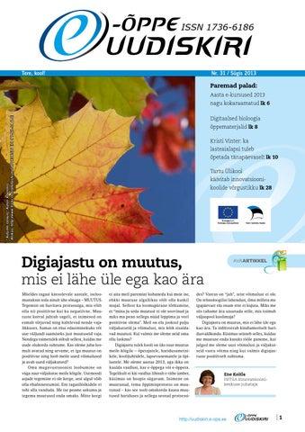 30b44e2a532 E-õppe uudiskiri by HITSA - issuu
