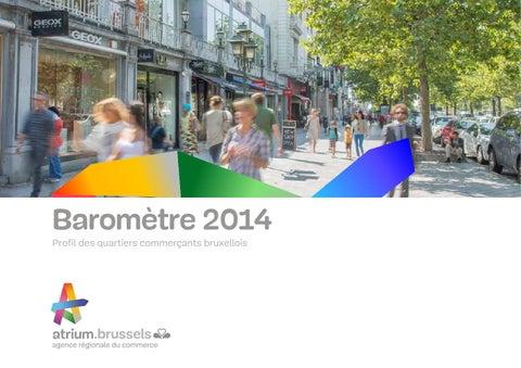 e6bcc6f7f5 Baromètre 2014 by Atrium Brussels - issuu