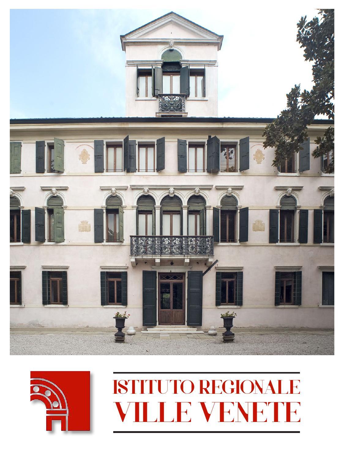 Istituto Regionale Ville Venete.Istituto Regionale Ville Venete By Istituto Regionale Ville