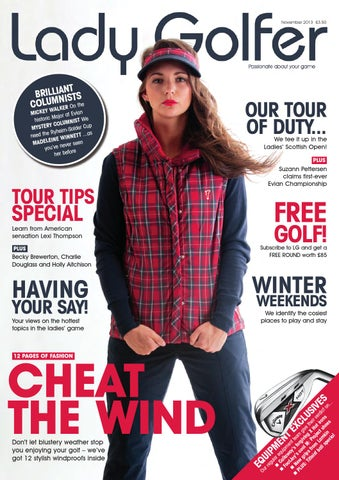 bc438e929e Lady Golfer November 2013 Issue by Sports Publications - issuu
