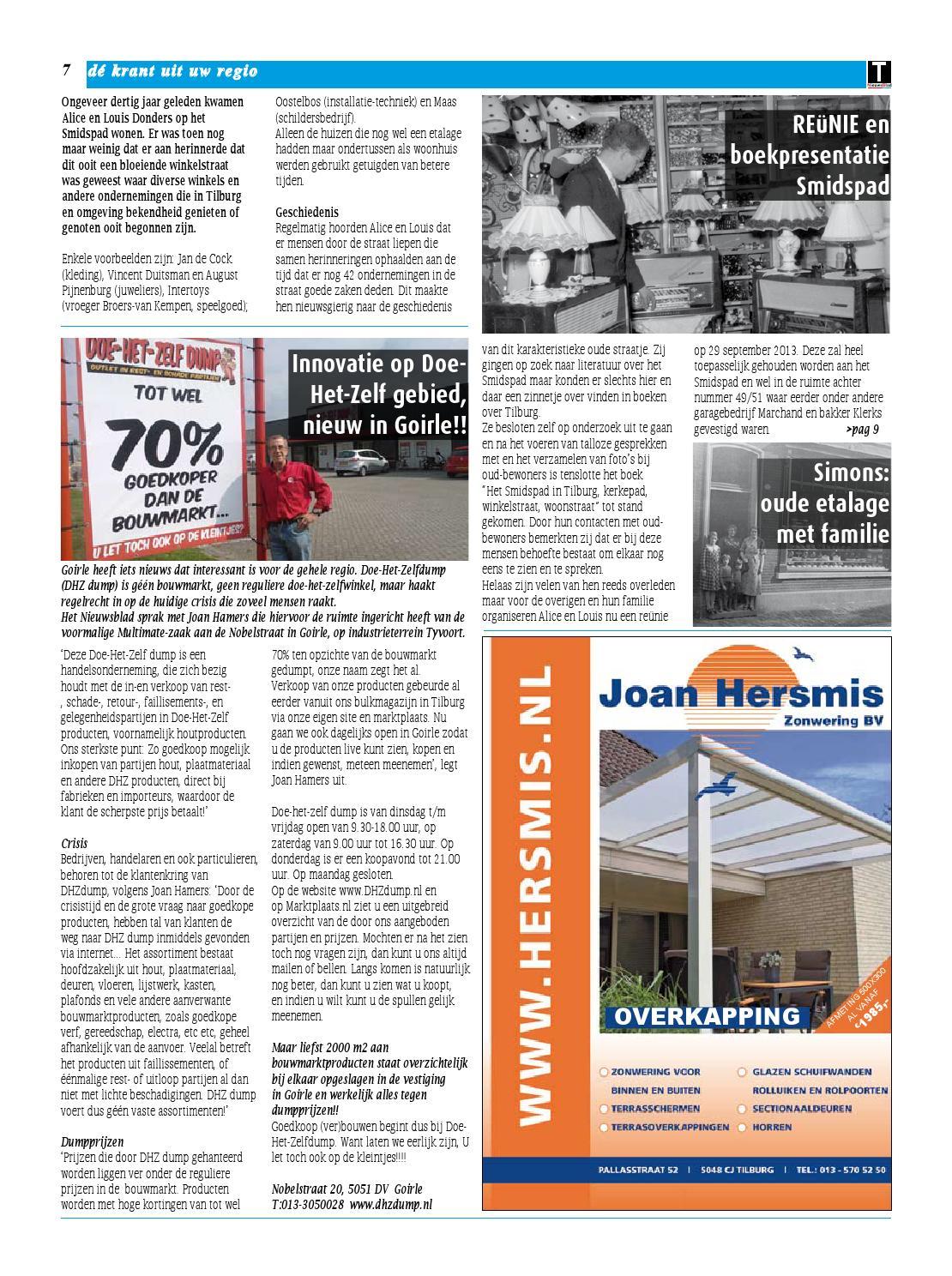 Doe Het Zelf Dump Goirle.Tnieuwsblad Sept By Gert Jan Van De Sanden Issuu