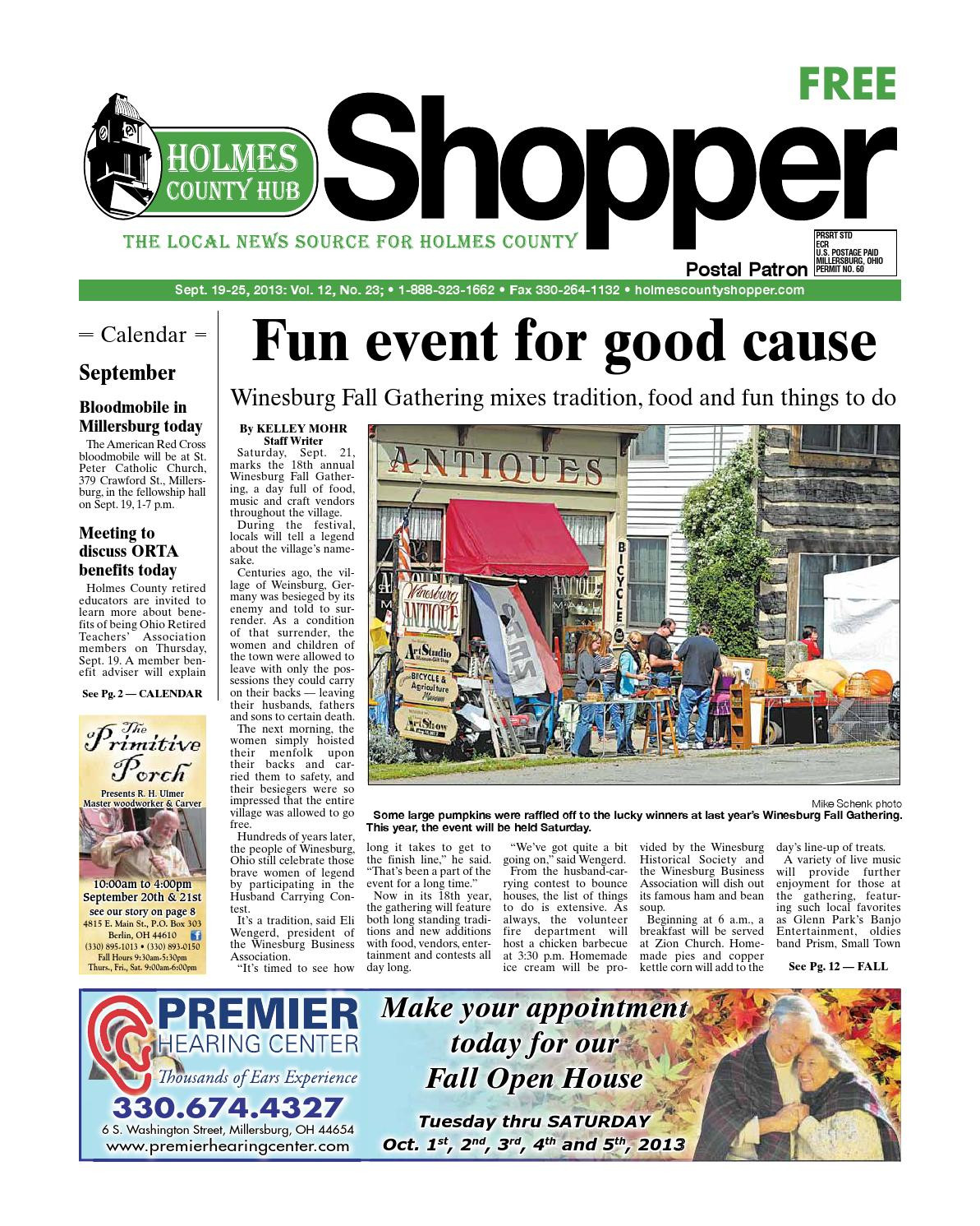 Holmes County Hub Shopper Sept 19 2013 By Gannett NEO Issuu
