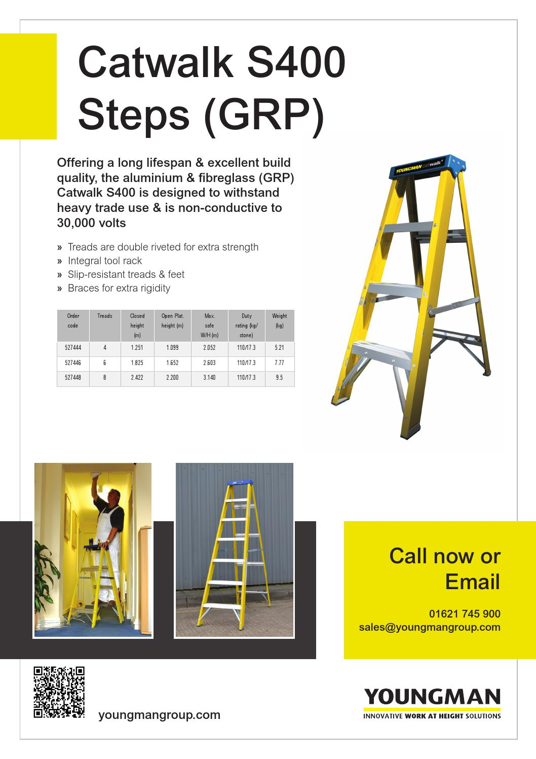 Youngman Group Catwalk Step Ladders by Simply Marcomms - issuu