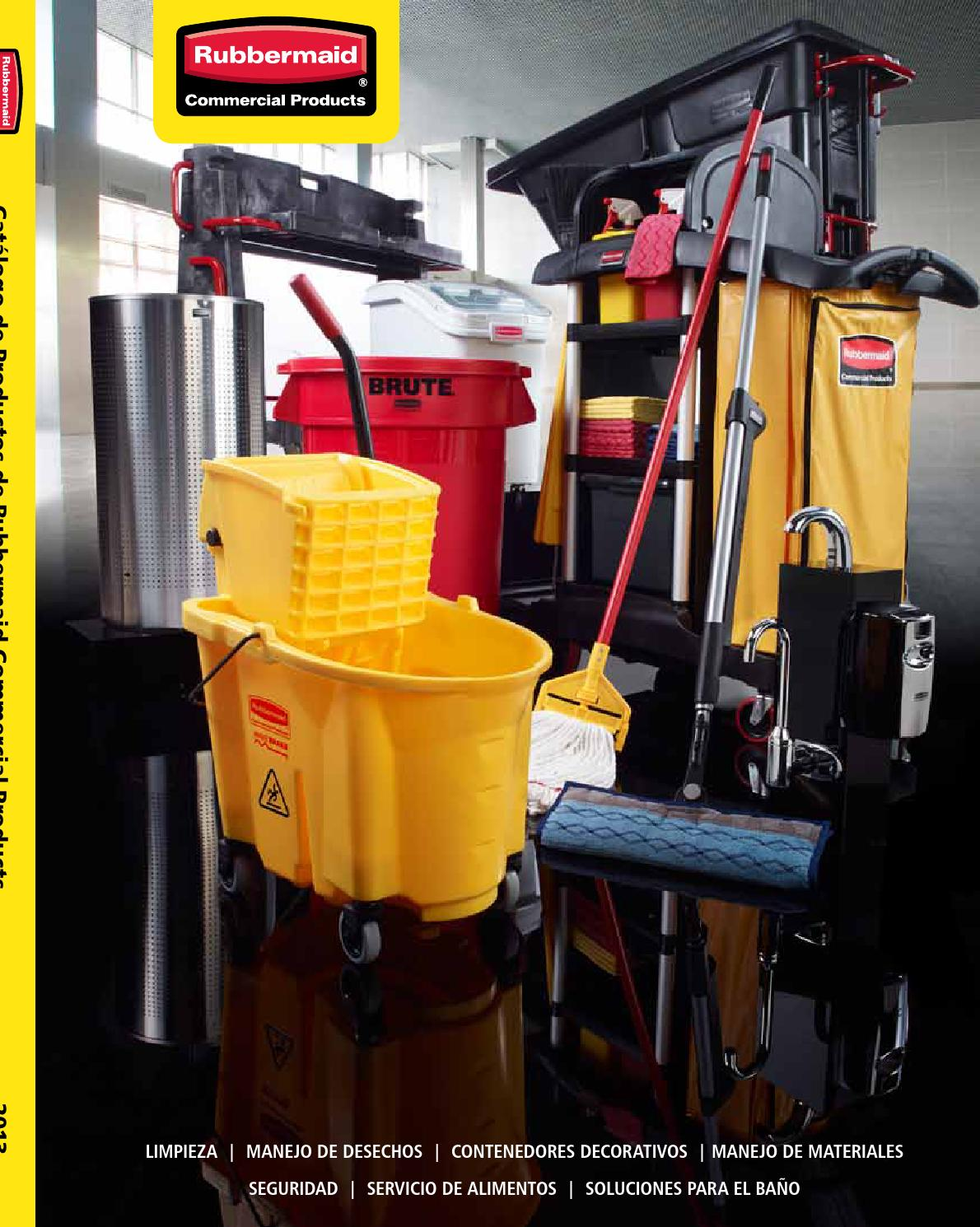 5123e50edc23 Catalogo Rubbermaid Commercial LA by Rubbermaid Commercial - issuu