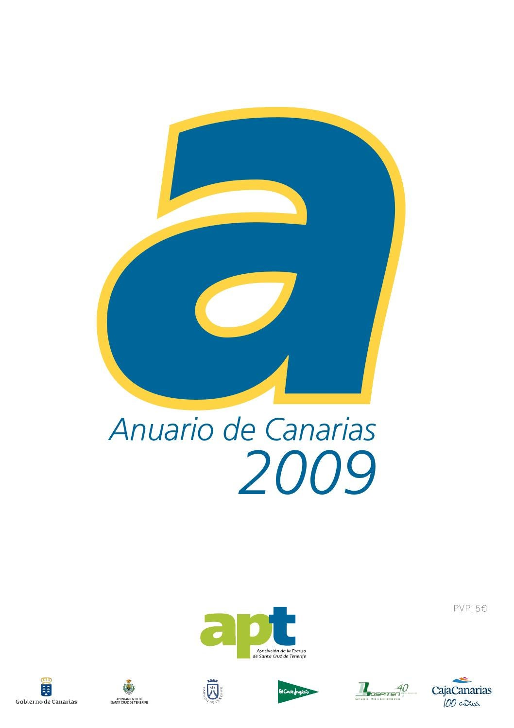 Anuario De Canarias 2009 By Asociaci N De La Prensa De Santa Cruz  # Muebles Ojeda Corralejo