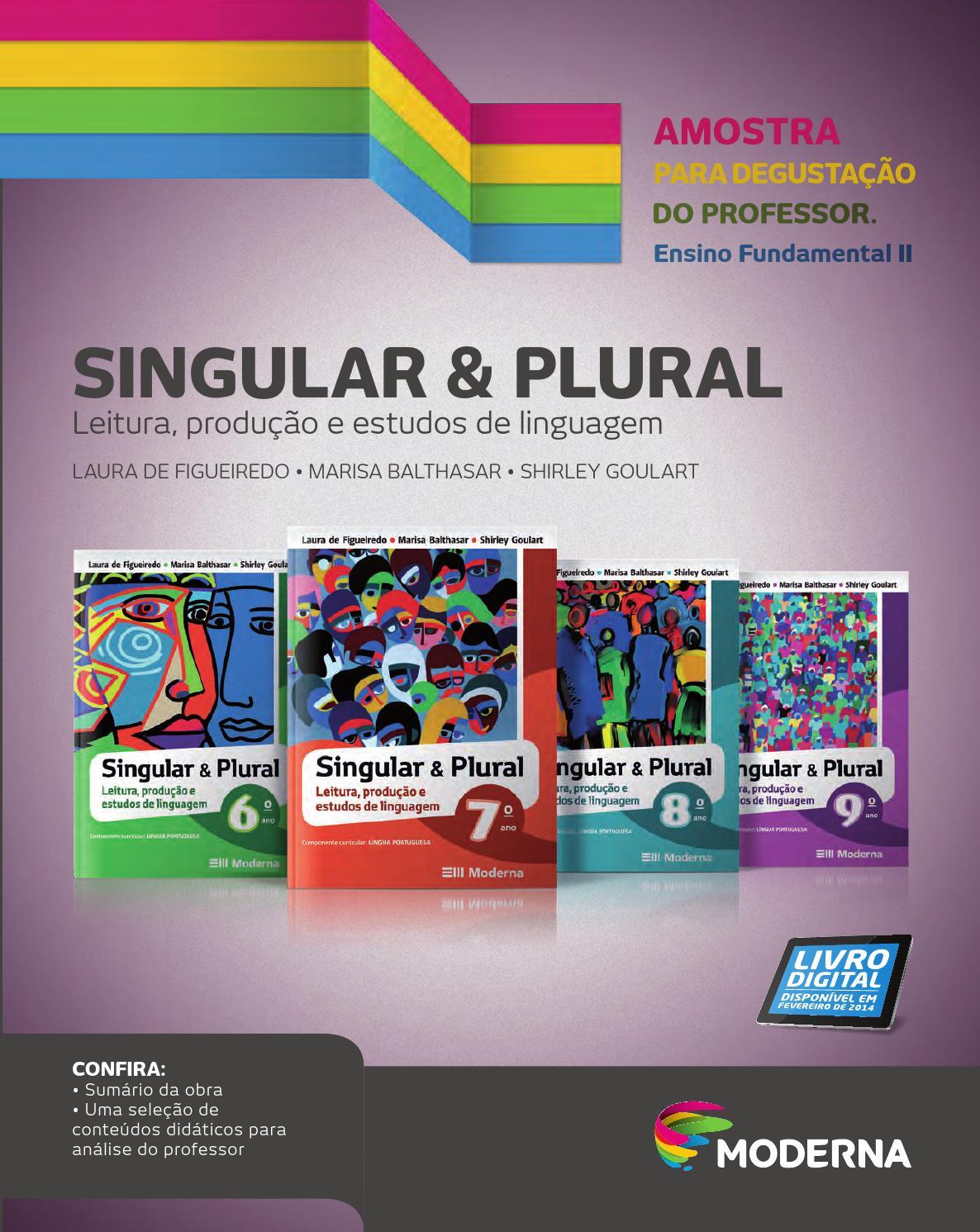 Singular Plural By Editora Moderna Issuu