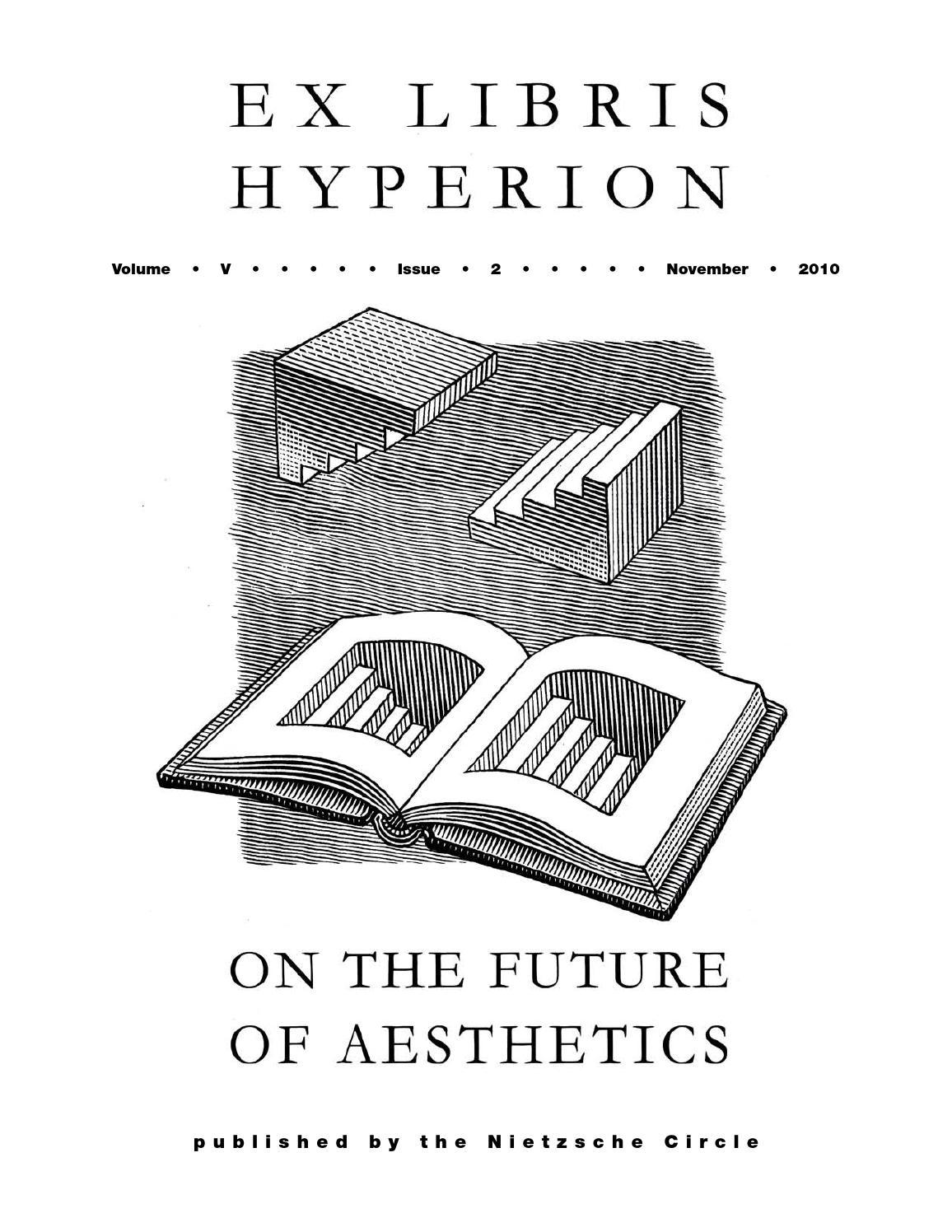 Hyperion, Vol. 5, No. 2 by Contra Mundum Press - issuu