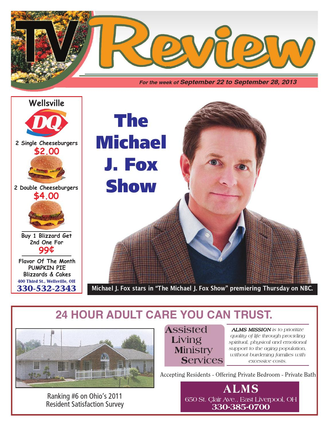 TV Review 9-22-13 by East Liverpool Review - issuu