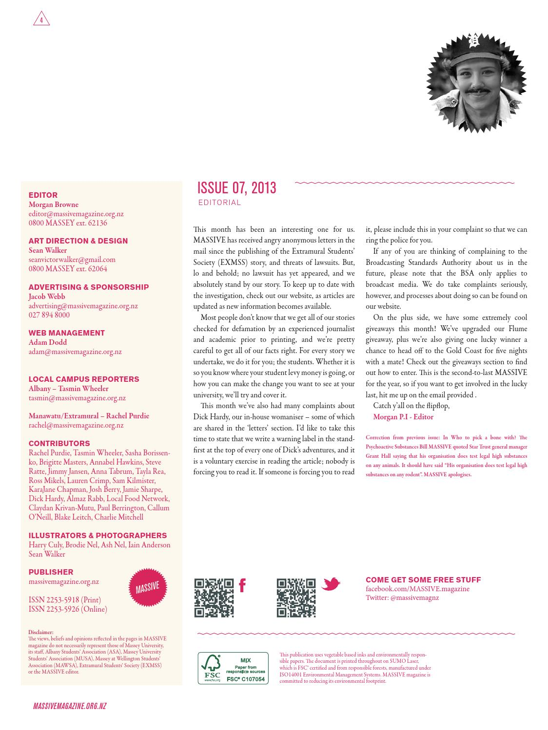 Massive Magazine Volume 02 Issue 07 by Massive Magazine - issuu