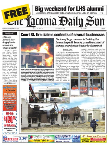 The Laconia Daily Sun September 24 2013 By Daily Sun Issuu
