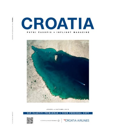 Croatia Airlines Inflight magazine Autumn 2013 by Croatia
