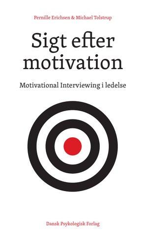 hvad motiverer dig som menneske