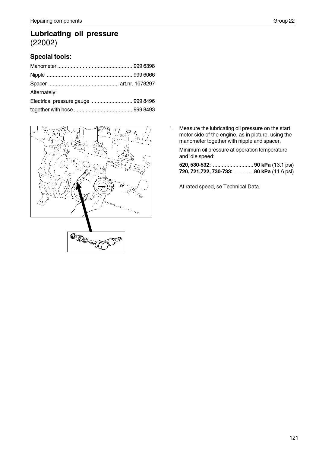 Volvo Work Shop Manual 520 733 By Power Generation Issuu Kia Sorento D4cb Engine Wiring Diagrams