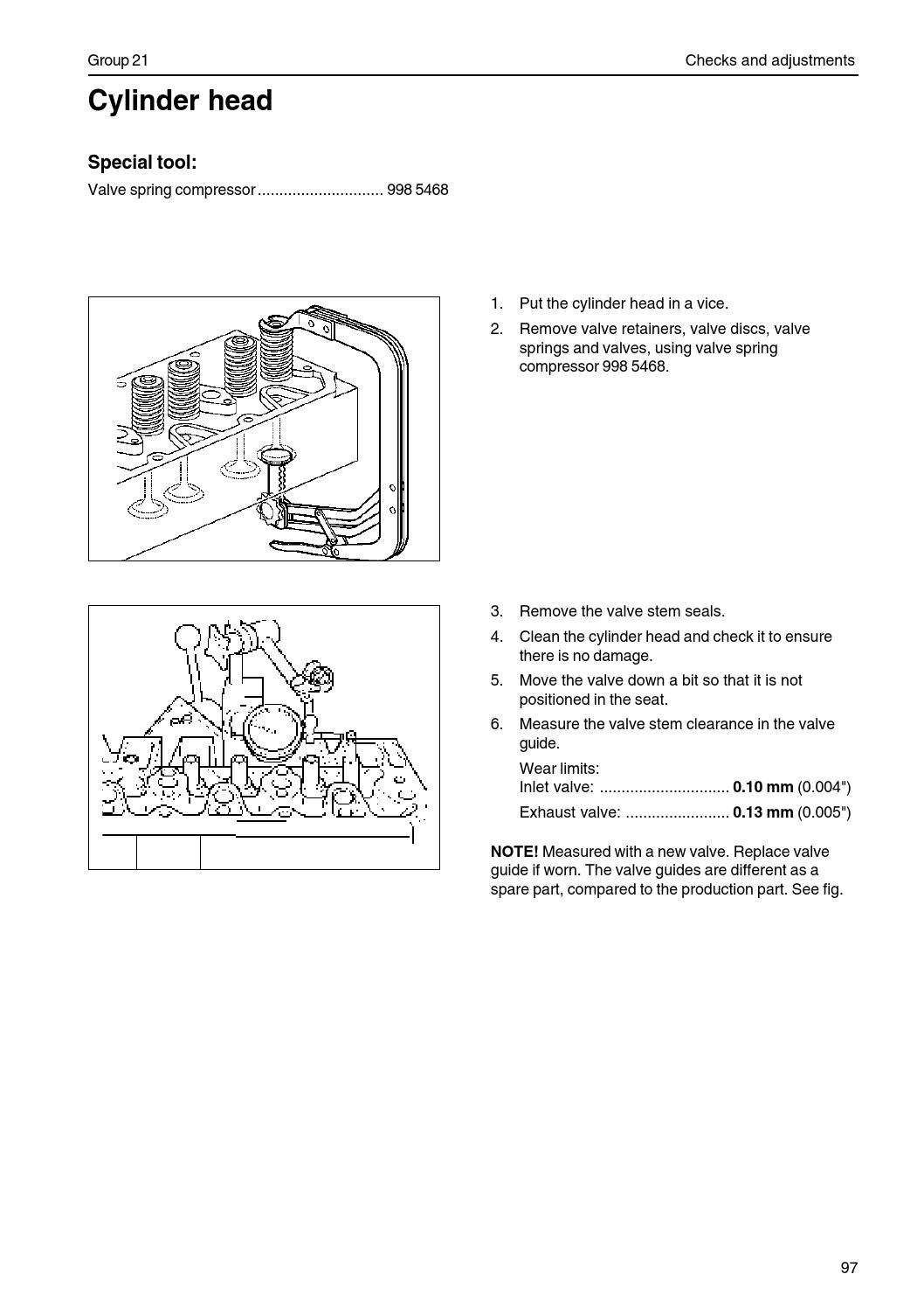 Volvo Work Shop Manual 520 733 By Power Generation Issuu 134 Engine Exhaust Valve Diagram