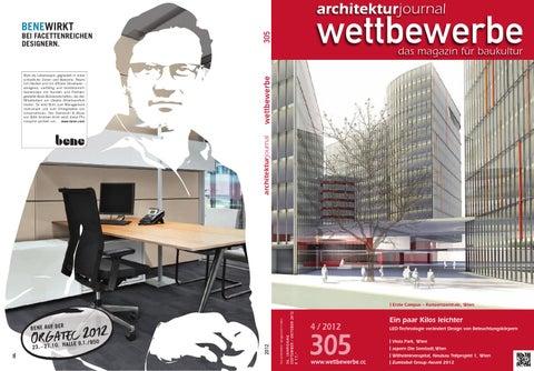 3c083258311a99 305 4 2012 Sept Okt by Architekturjournal wettbewerbe - issuu