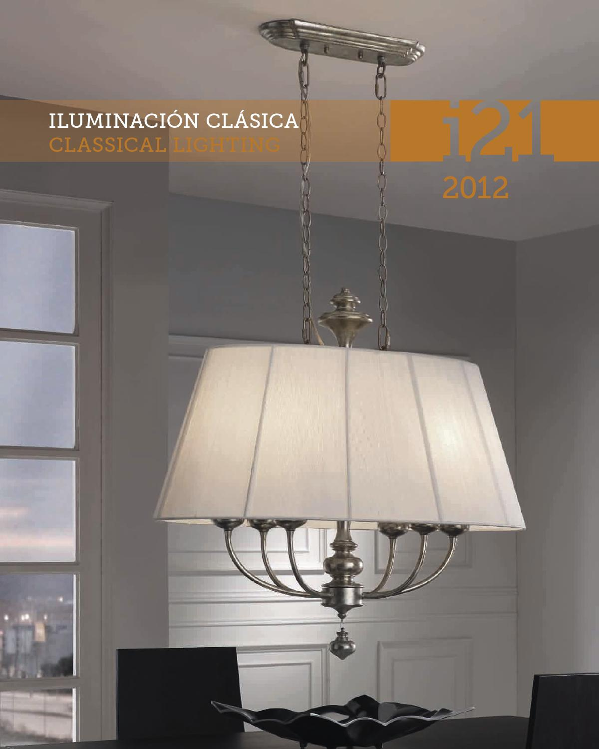 Schuller i21 2012 classical lighting by issuu - Lamparas lucena ...