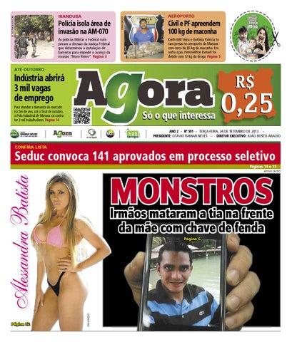 dafdaff27 AGORA - 24 de setembro de 2013 by Amazonas Em Tempo - issuu