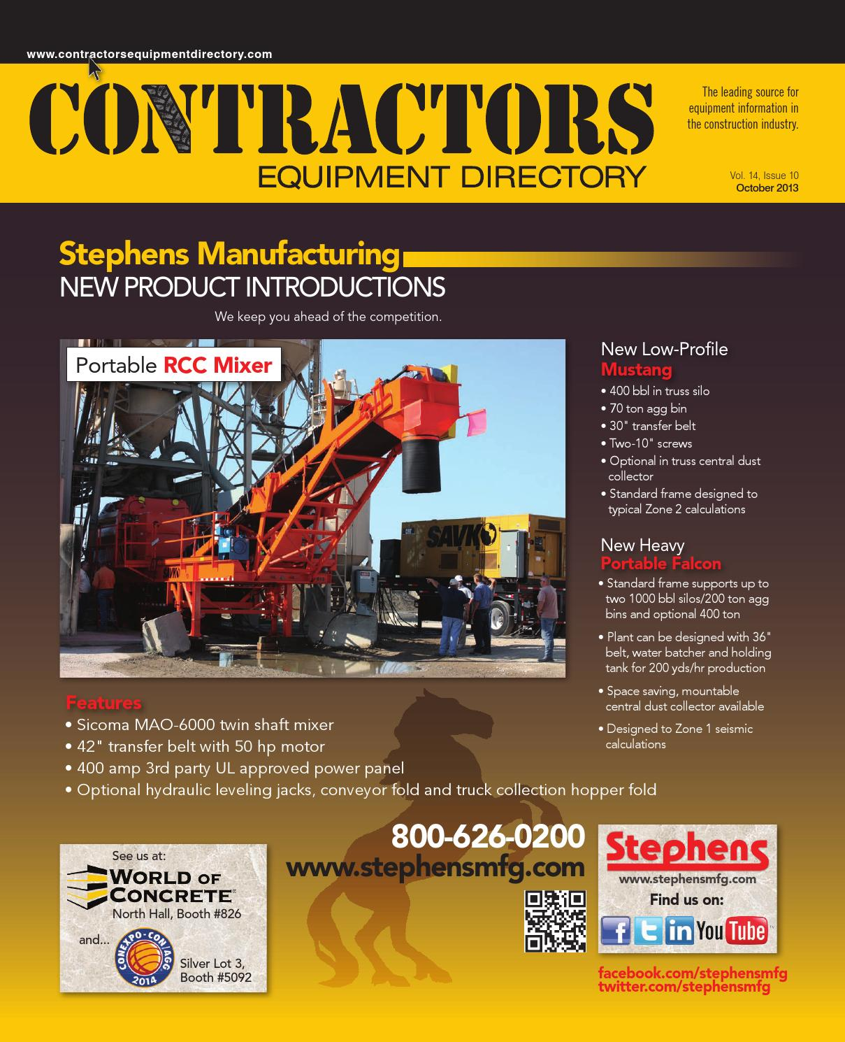 Contractors Equipment Directory October 2013 By Five Star Wiring Diagram Kubota B26 Tlb Publishing Inc Issuu