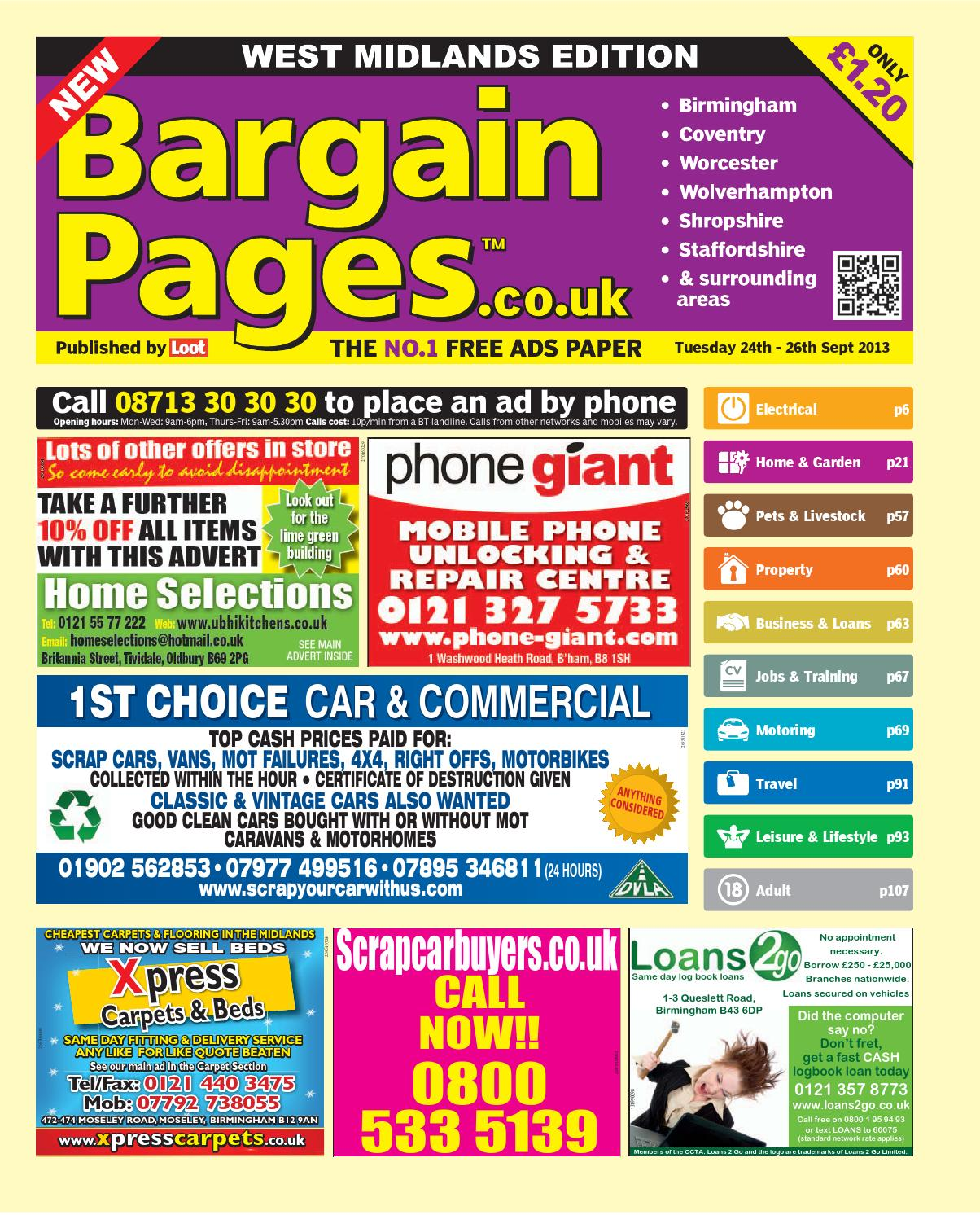 bd7d81296a9 Bargain pages west midlands by Loot - issuu