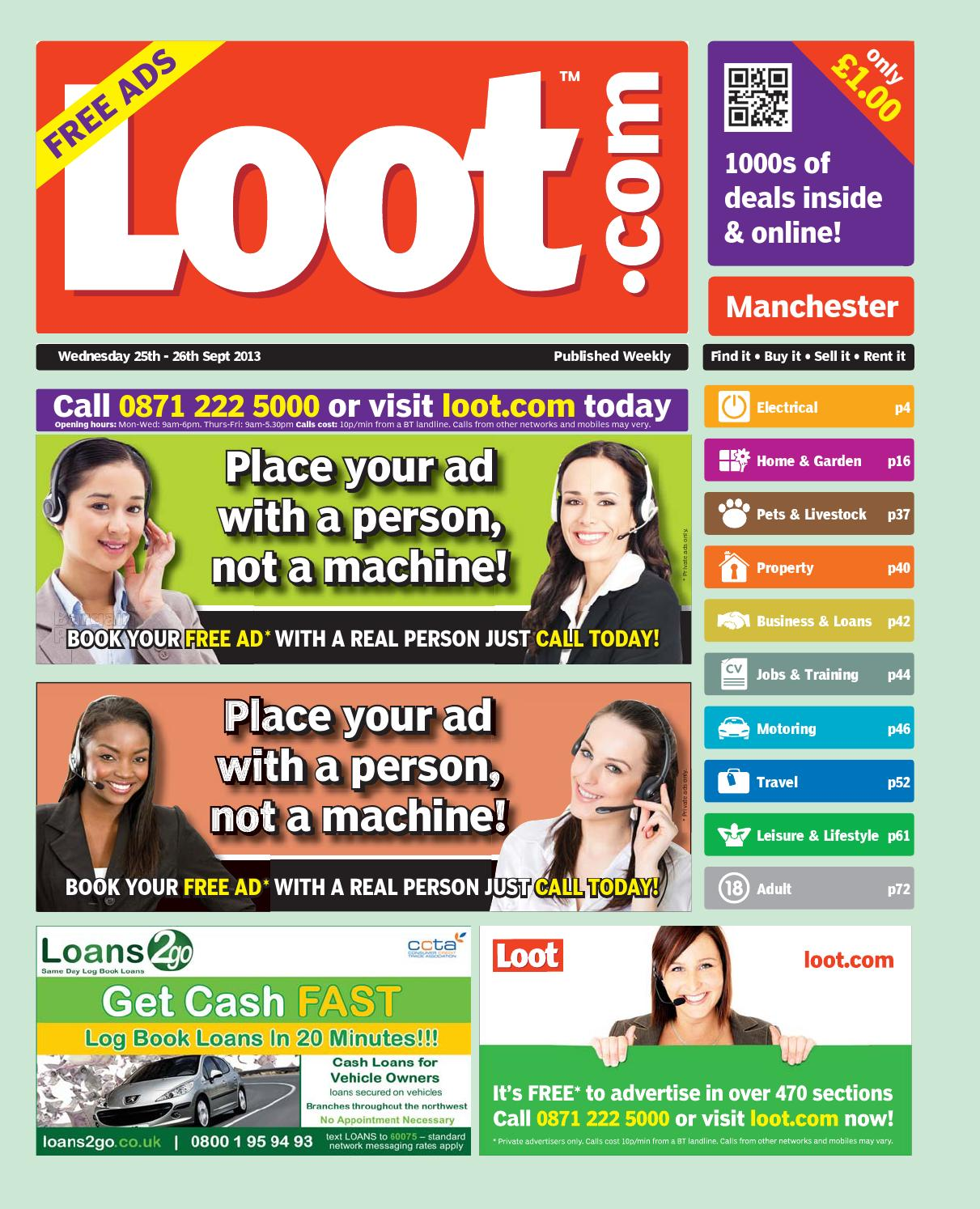 7b11ab42 Loot manchester by Loot - issuu