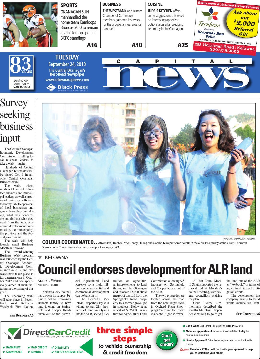 Kelowna Capital News, September 24, 2013 by Black Press - issuu