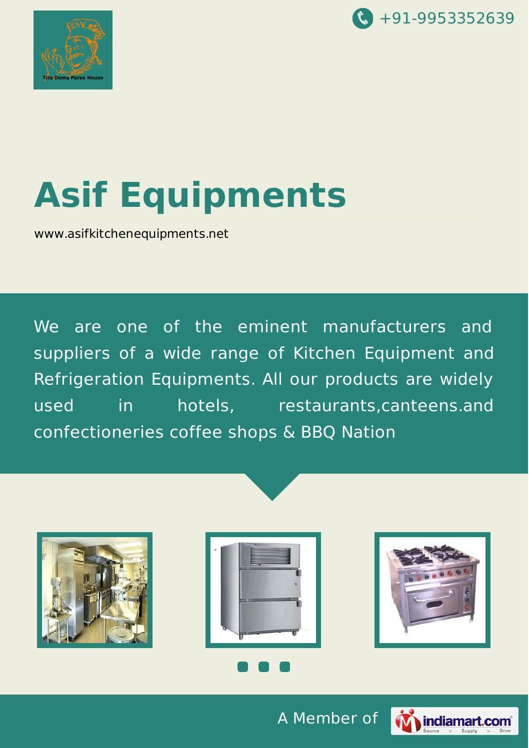 Kitchen Equipment by Asif equipments by Asif Equipments - issuu