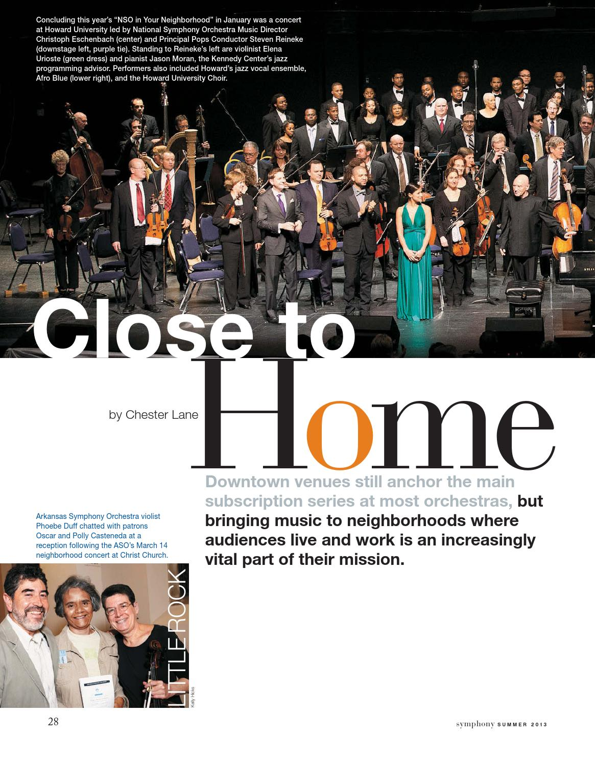 Symphonyonline summer 2013 by League of American Orchestras