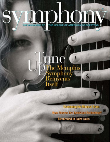 Symphonyonline Jul Aug 2010 By League Of American Orchestras Issuu