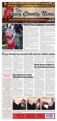 september 24 2013 the posey county news by the posey county news rh issuu com