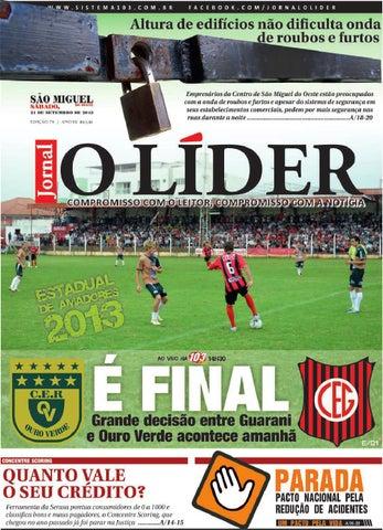 47c4932dd2f0d O líder smo 21 de setembro de 2013 by Jornal O Líder - São Miguel do ...