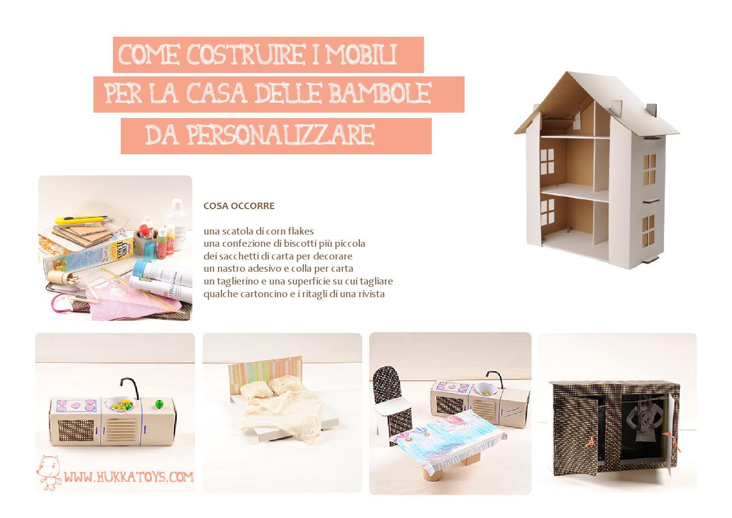Come costruire mobili in cartone per casa delle bambole tutorial by hukkatoys issuu - Casa di cartone ...
